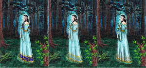 3 Versions of Luthien Dress