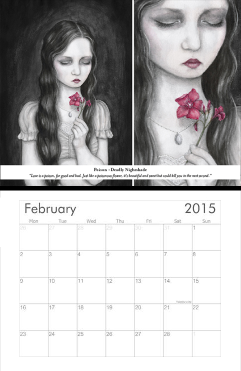 Kalender 2015 webb feb by SandraHultsved