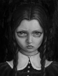 Wednesday Addams by SandraHultsved