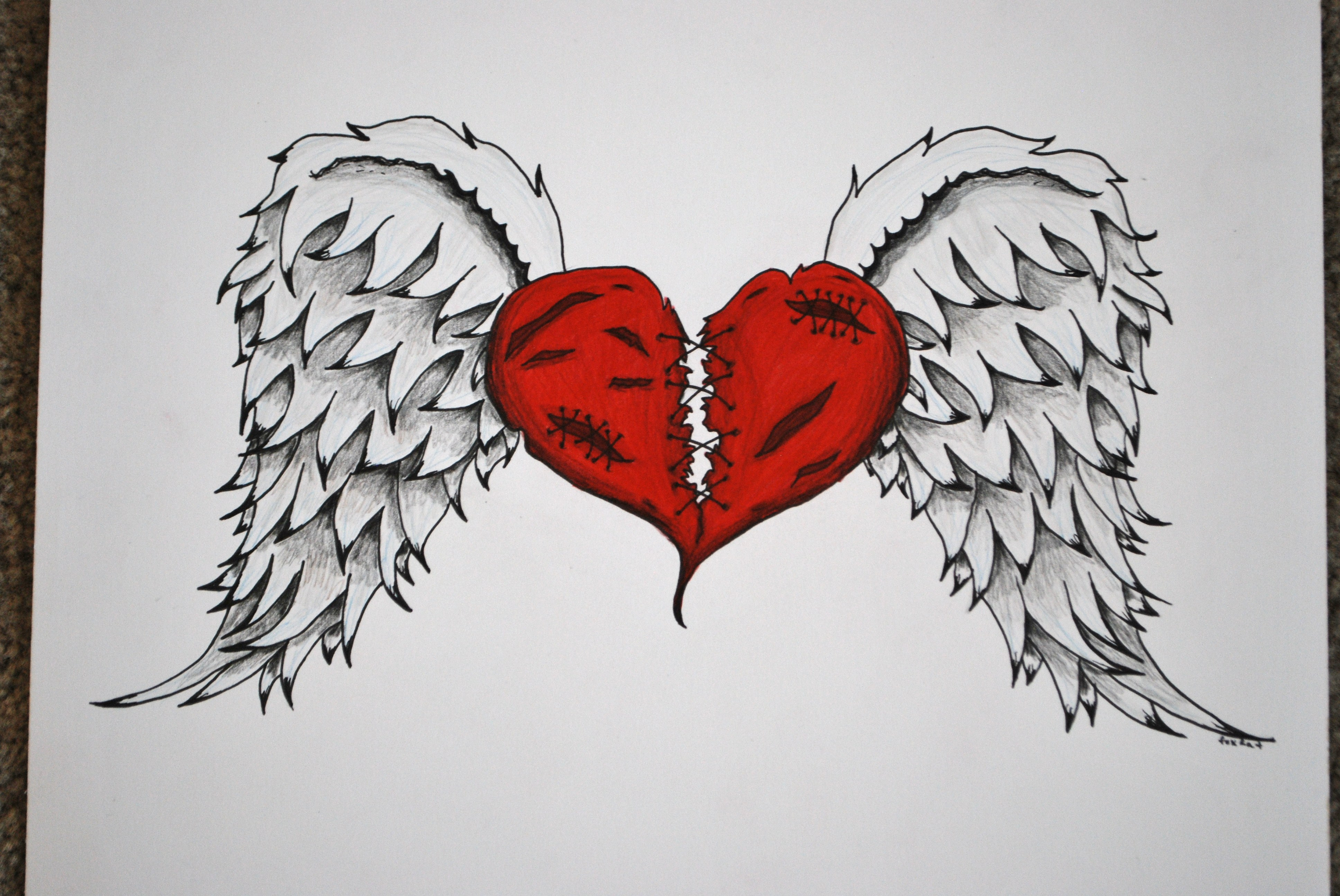 'Broken Heart' Commission by foxkat on DeviantArt