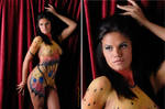 Butterfly Body Paint - MAKEUP