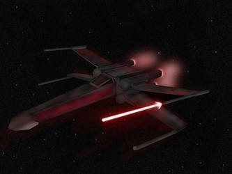 X-wing by theallmightybob