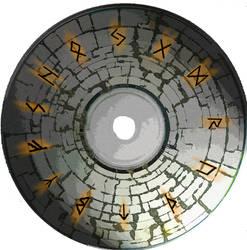 Rune Disk by theallmightybob