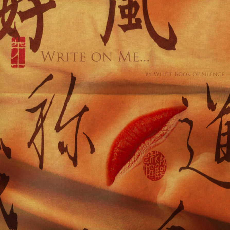 Write on Me... by lostbooks