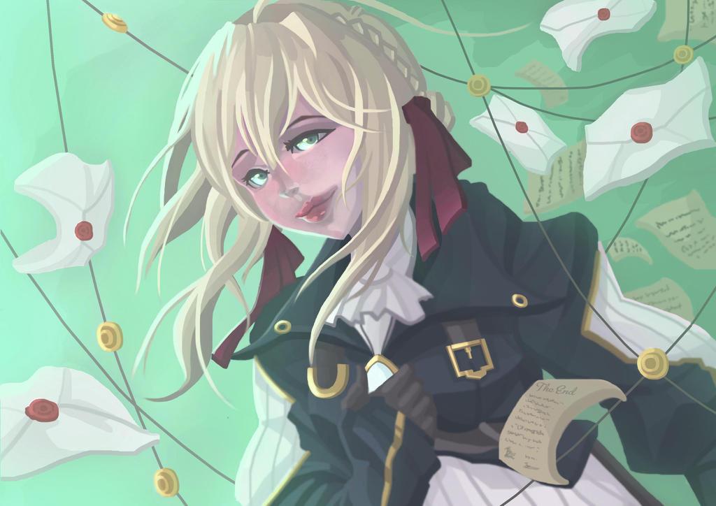 Violet Evergarden by Blueakasa