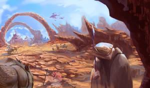 Desert Renegade by Blueakasa