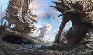 sea planet by Blueakasa