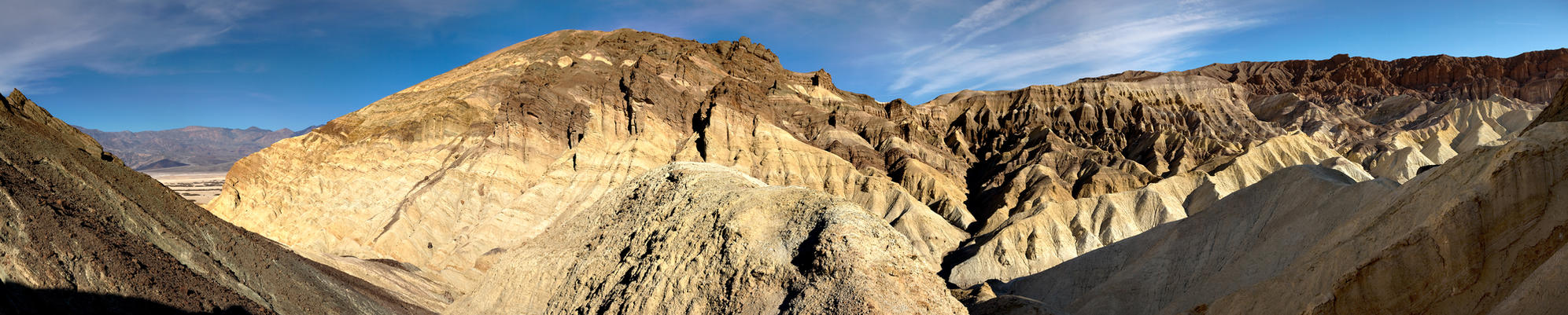Golden Canyon -Death Valley by themobius