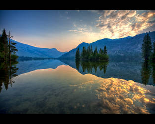 Reflections of Silver Lake by themobius