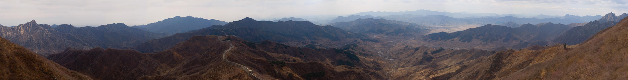 Great Wall Environs Pano by themobius
