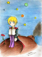 Le petit prince by Smilexdraw