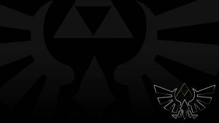 Zelda Triforce 1920x1080 by rdjpn