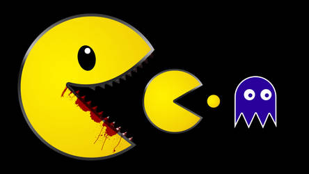 PacMan PS3 Vector Wallpaper by rdjpn