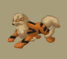 Arcanine by Tropiking