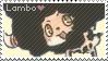 Lambo Stamp by Kay-Love