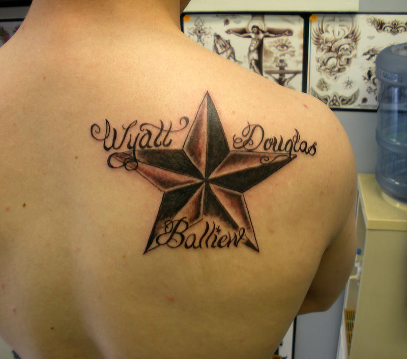 Nautical Star with name