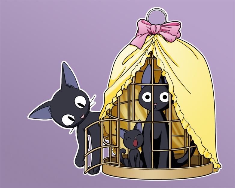 Studio Ghibli Kiki's Delivery Service Jiji Beanie | Hot Topic