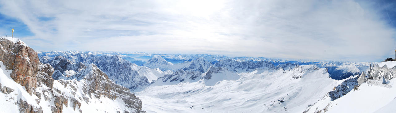 Panorama - Zugspitze 2010