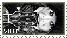 Stamp Ville Valo 01 by DieNaerrin
