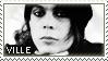 Stamp Ville Valo 04 by DieNaerrin