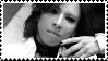Stamp - Yoshiki IV - b+w by DieNaerrin