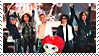 Stamp X-JAPAN I by DieNaerrin