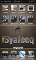 Iphone 4 Wallpaper - iSyafeeq + Custom icon