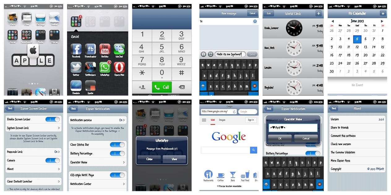 Iphone feel on samsung galaxy wonder by bigheadlover on for Galactic wonder
