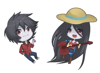AT: Marshall Lee and Marceline