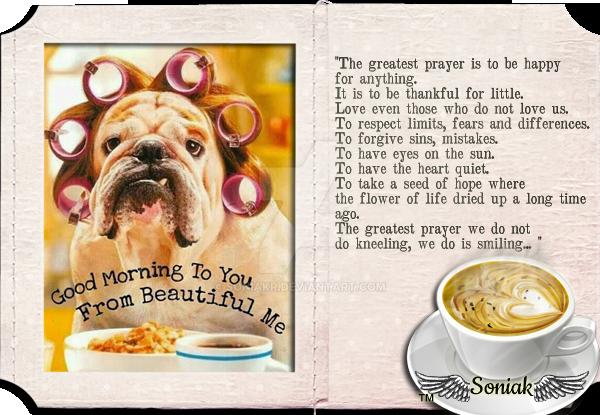 Morning Dear By Sk by soniakr