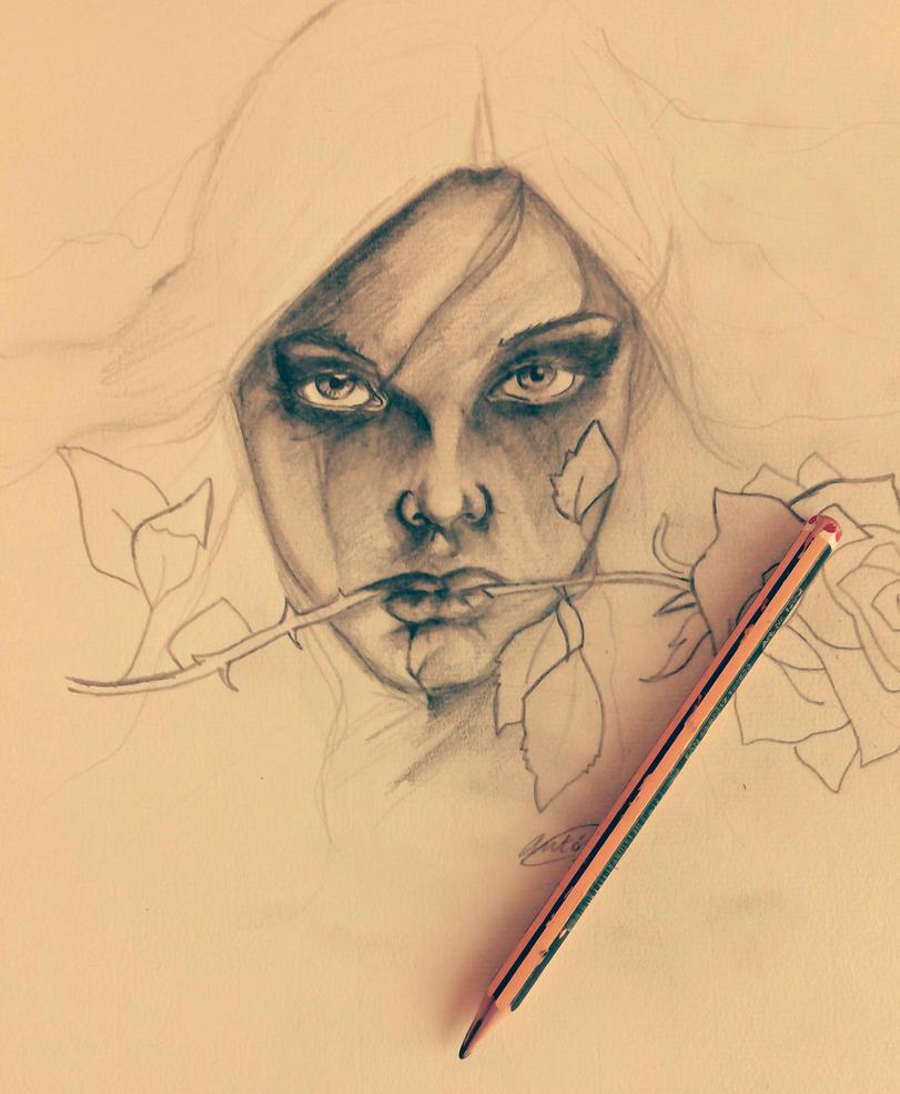 Dark Roses by edarkvampire