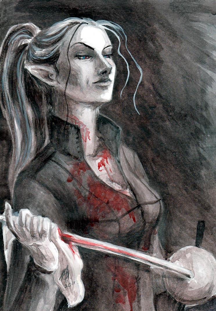 Half-blood by TheWildGrape