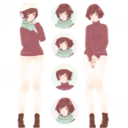 Sweater Weather MEIKO 2017 by sailor-rice