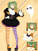 SR Trick or Treat Miku [Happy Halloween 2017] by sailor-rice