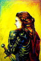 Joan Of Arc by cheburart
