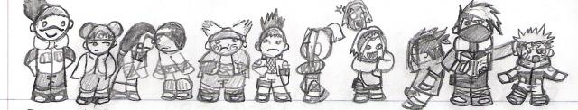 Naruto gang by TwistedDreamx2x