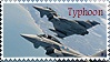 Eurofighter Typhoon Stamp by thefightingfalcon08