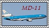 KLM MD-11 Stamp by thefightingfalcon08