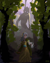 the Dryad by Thaximus