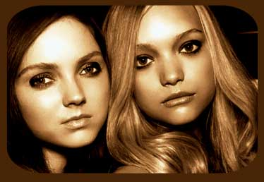 lily cole and gemma ward by wonderdhiet