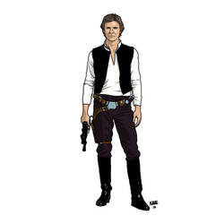 Han Solo ANH by Kaal-Jhyy