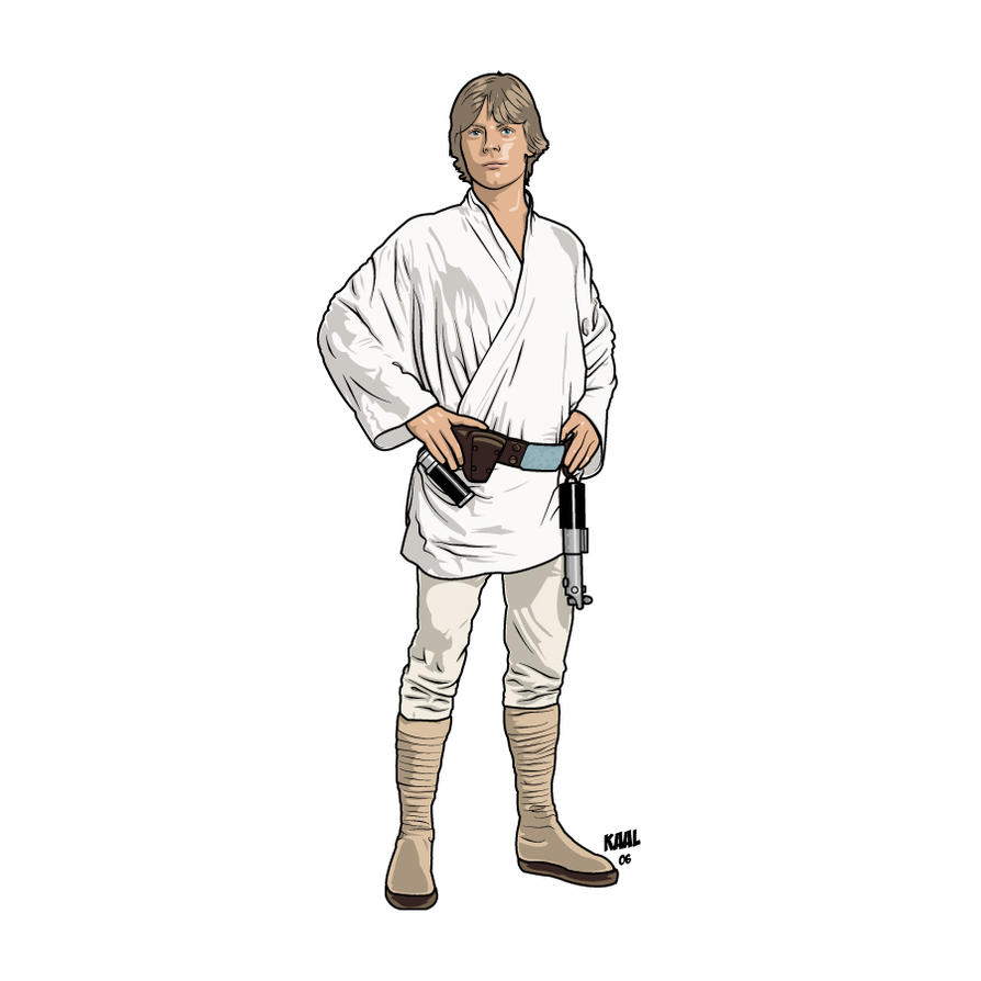 Luke Skywalker ANH by Kaal-Jhyy