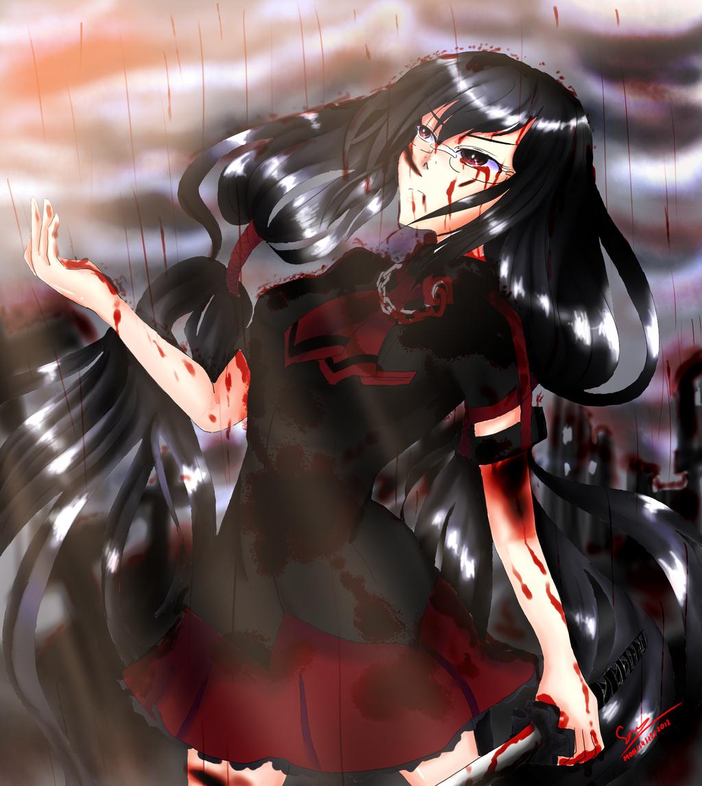 Anime Blood C By SoraKoyama On