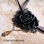 Gothic Corsage Necklace