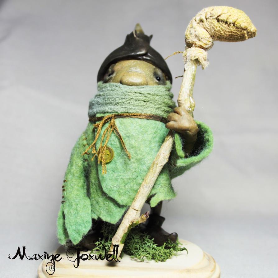 Catarrh Goblin by LaOubliette