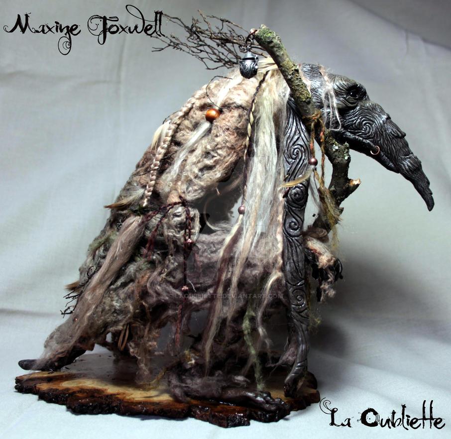 Froud inspired Troll by LaOubliette