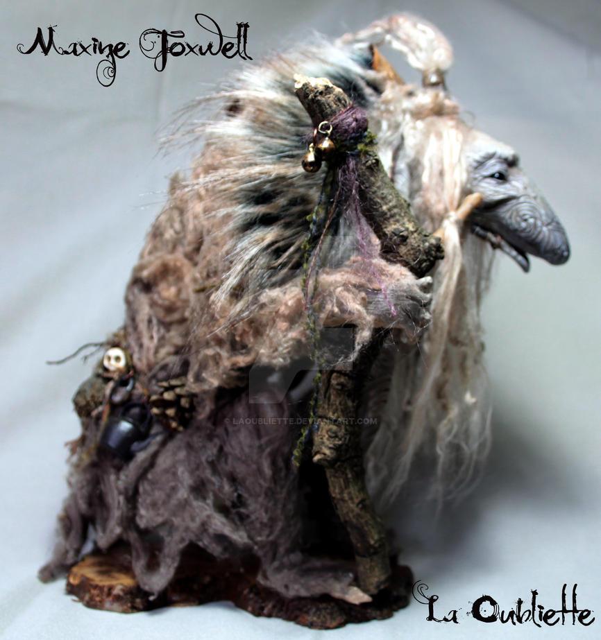 Froud inspired Troll Sculpture by LaOubliette