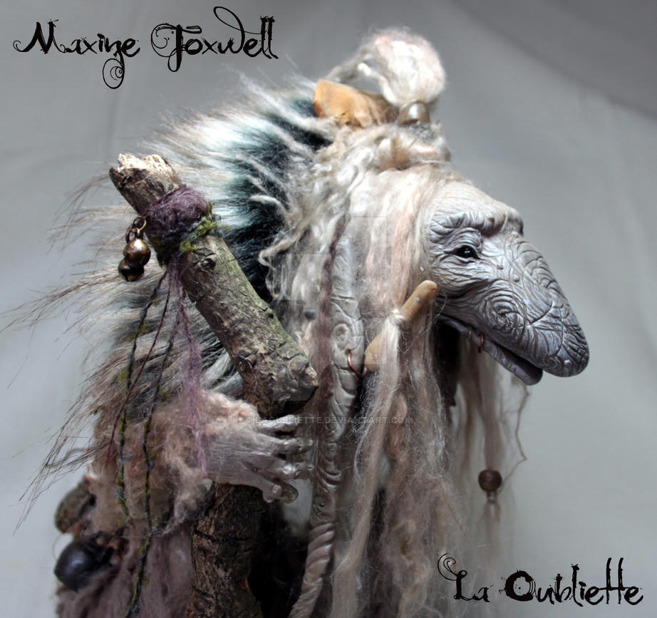 Troll Sculpture by LaOubliette