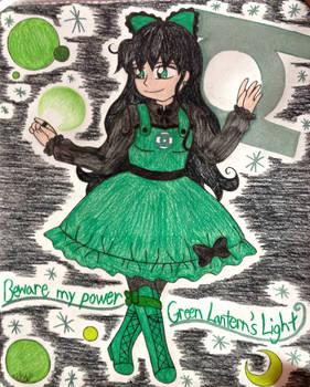 .:Super Hero Lolita:. Green Lantern