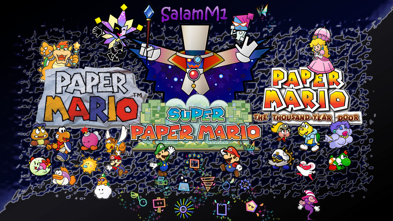 Paper Mario Ultimate Wallpaper By SalamenceMaster1